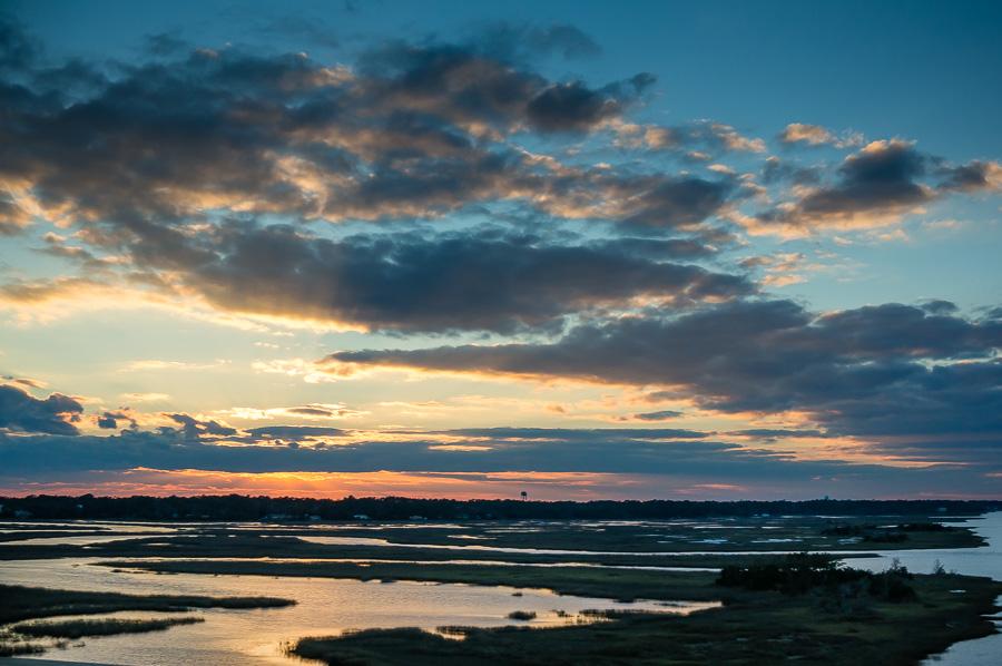 Waterway before Sunset