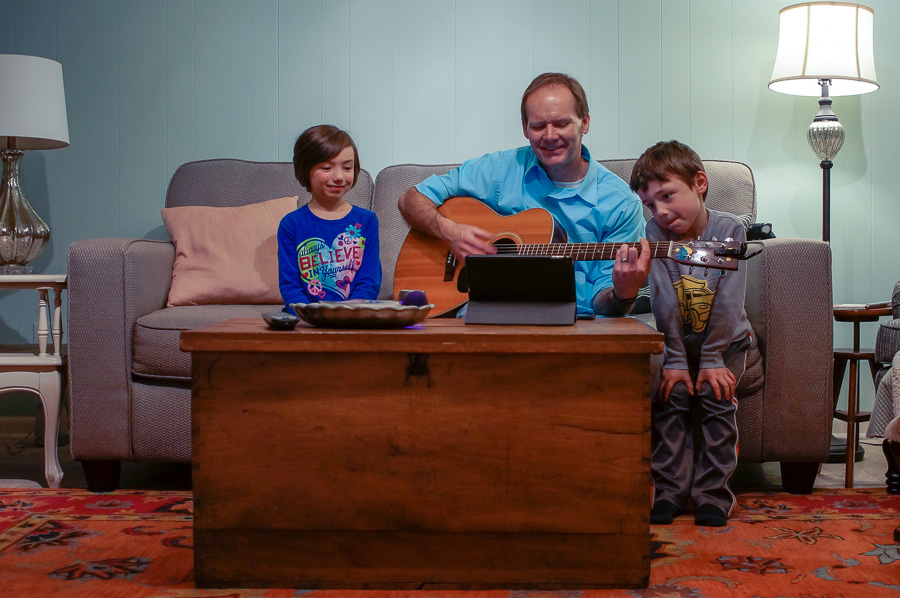 Guitar and Family