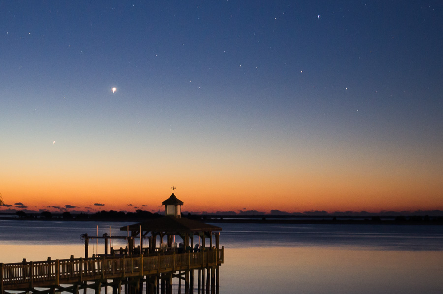 Dock Nautical Twilight