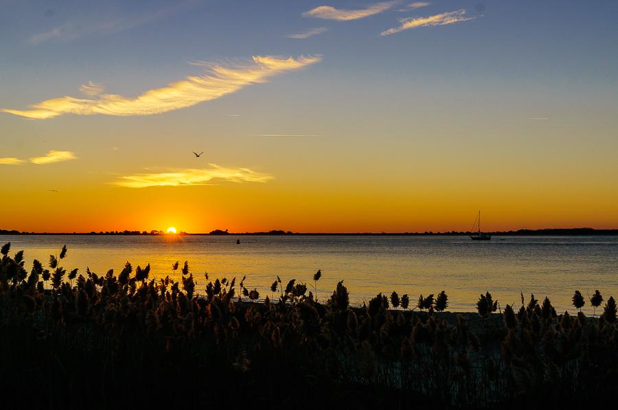Sunrise around Southport